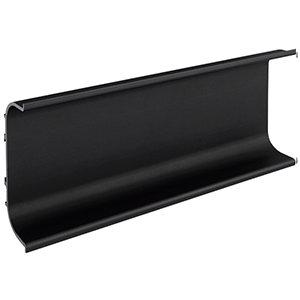 Greeplijst C-profiel mat zwart (5000 mm)