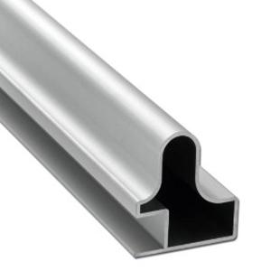 Greeplijst, aluminium tbv 18 mm